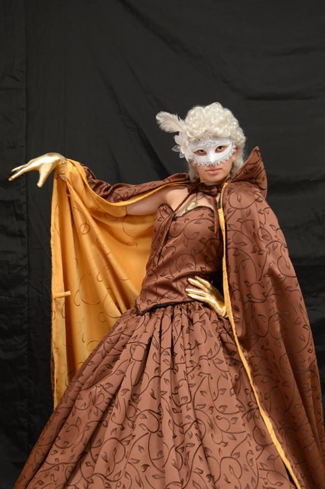 Disfraz dama antigua II